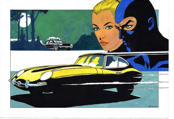 Jaguar E-Type di Enzo Facciolo