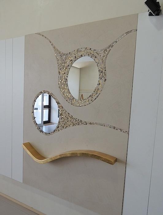 Riflessioni, mosaic mirror, 140x200 cm