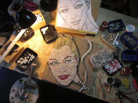 Eva Kant 43x50 work in progress