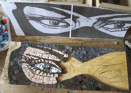 Diabolik il Re del Terrore, 10x30, work in progress