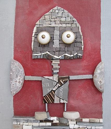 Robottino medievale, detail