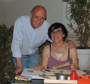 con Angelo Maria Ricci