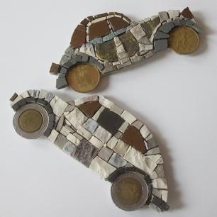 50 euro, single mosaic