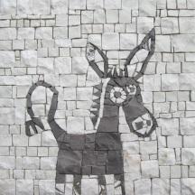 Donkey, ciuchino a mosaico