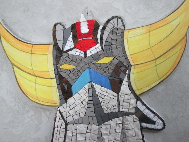 mosaico di Goldrake