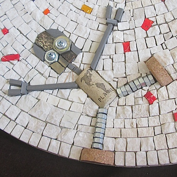 detail cork Planet
