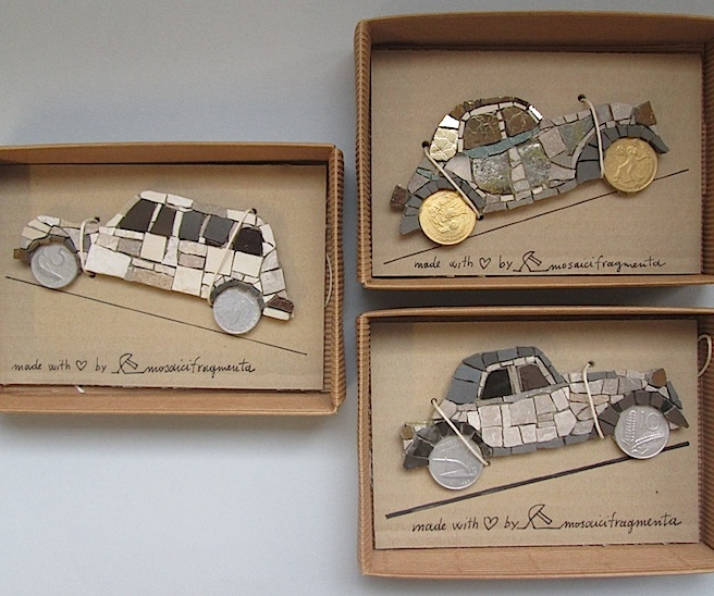 Cars magnets, gift box