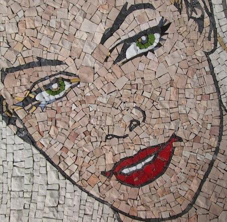 Eva Kant 43x50, detail