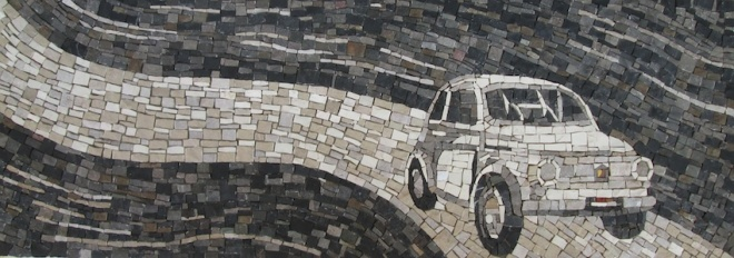 Fiat 500 Abarth, 30x83x3 (cm)