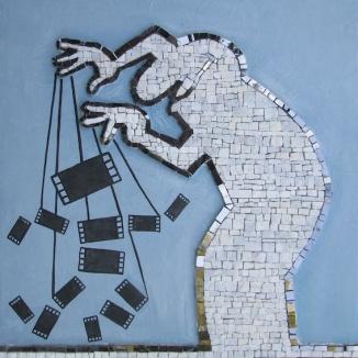 Mosaico La Linea di Cavandoli