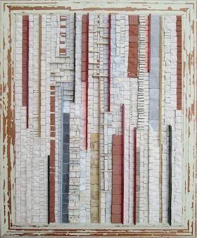 Partiture, 47x57x3 (cm)