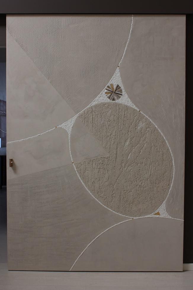 Sabbia, artistic door, 170x250x5 (cm)