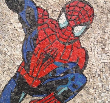 Spiderman, 50x50 (cm)