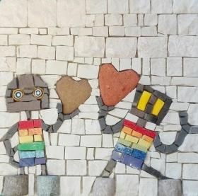 Rainbow love, collezione privata