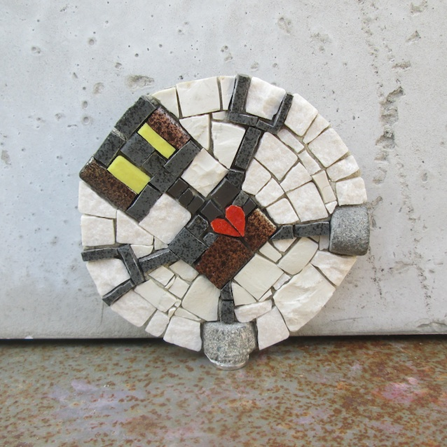 art magnet ROBOT LOVE 7,5cm