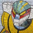 JEEG ROBOT mosaic art
