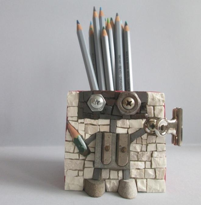 Robot penholder n.1, prototype
