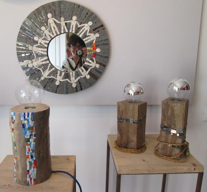 Specchio artistico e Luceppole