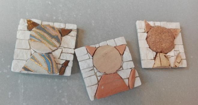 Gattini di ceramica,cotto e sughero, calamite artistiche