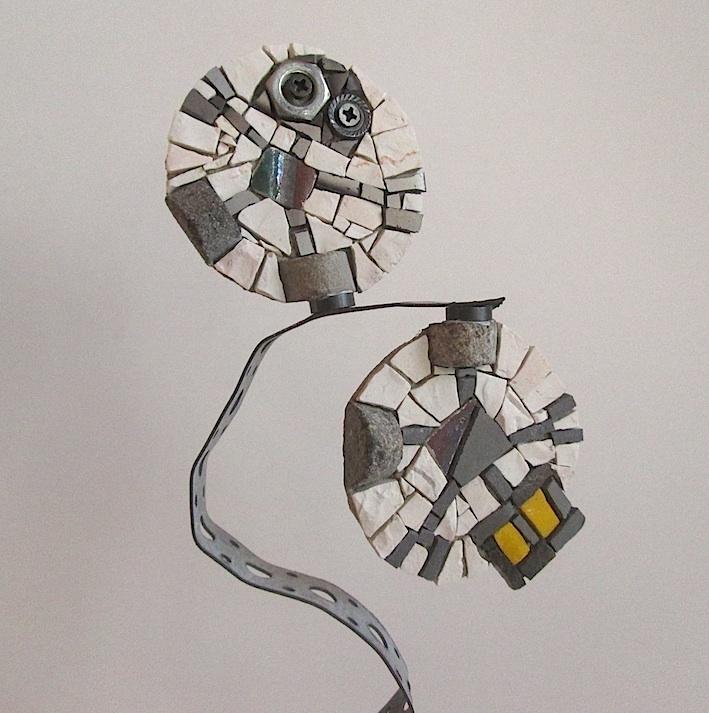 ROBOTS art magnets