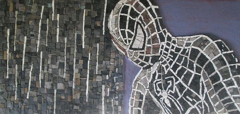 SPIDERMAN mosaic art