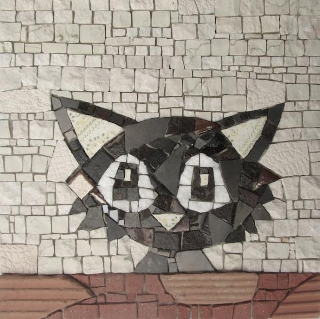 Black cat 20x20x3