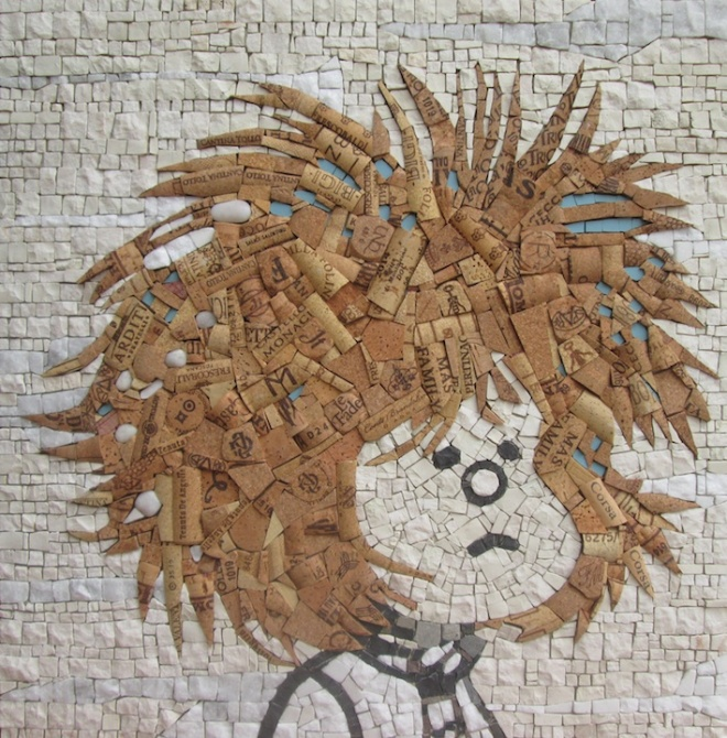 MAFALDA cork art