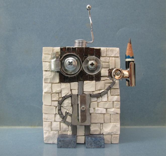 TEMPERINO n.1, robot penholder