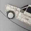 FIAT 127 mosaic art-dettaglio muso