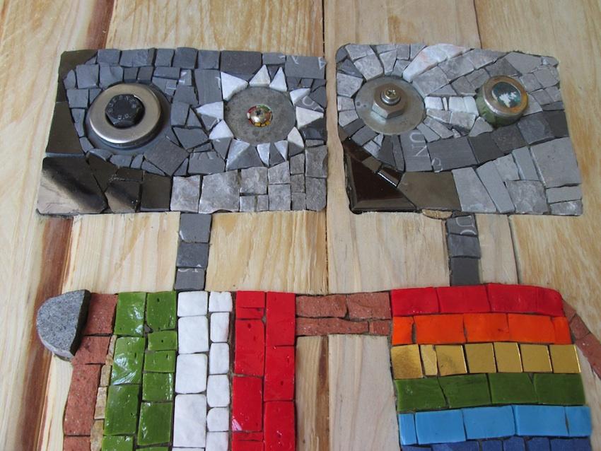 ArcobalenoItalia, 30x30 detail