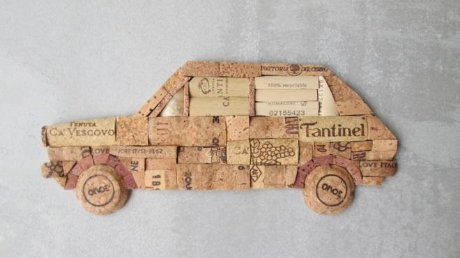 FIAT 127 con tappi di sughero