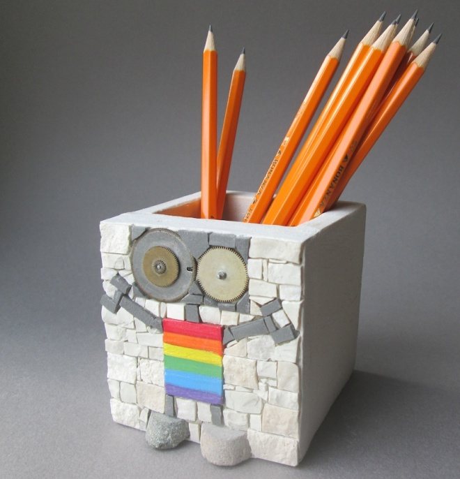 Rainbow penholder con matite