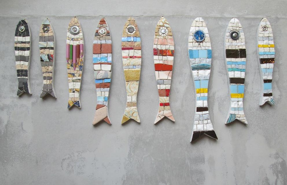 Sardine a mosaico