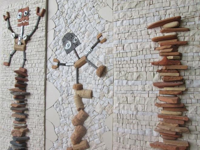 Equilibrium and equilibrist, trittico, dettaglio