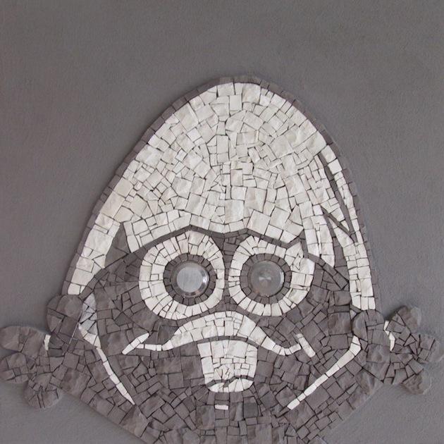 Calimero mosaic art
