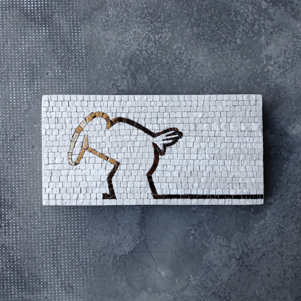 Mr. LINEA mosaic art
