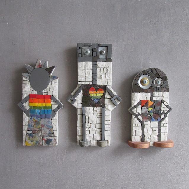 Rainbow family, rainbow robots