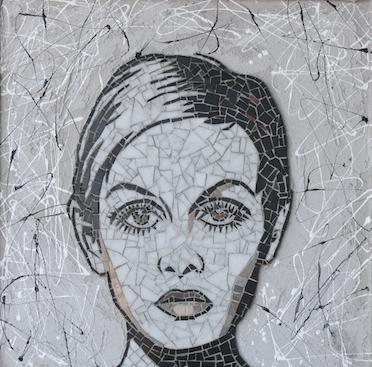 Mosaico di Twiggy