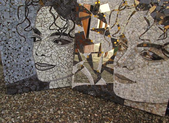 Michael Jackson mosaic portraits