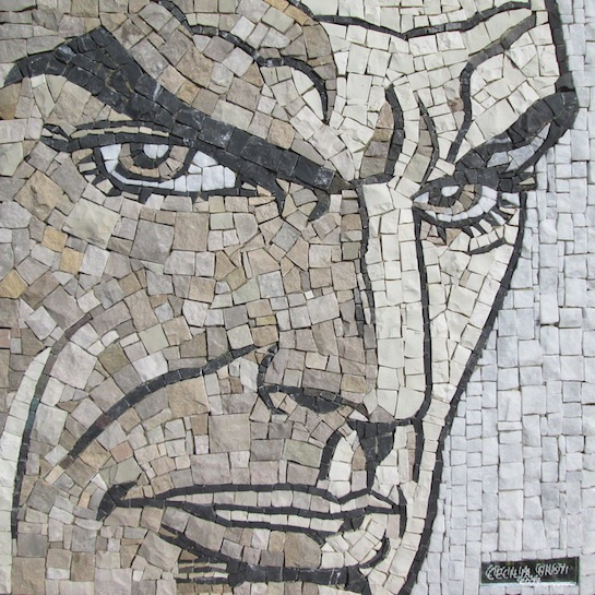 Mosaico di Diabolik