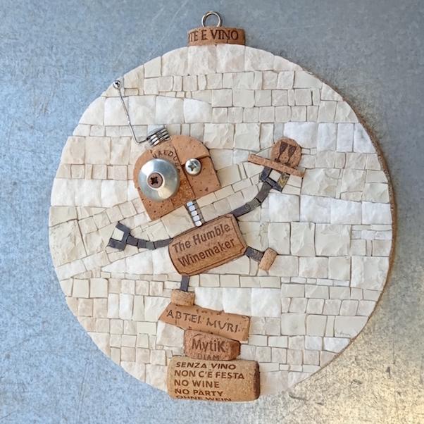 The Humble Winemaker, art robot